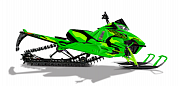 Снегоход 2017 Arctic Cat M 8000 153 HARD CORE EVO